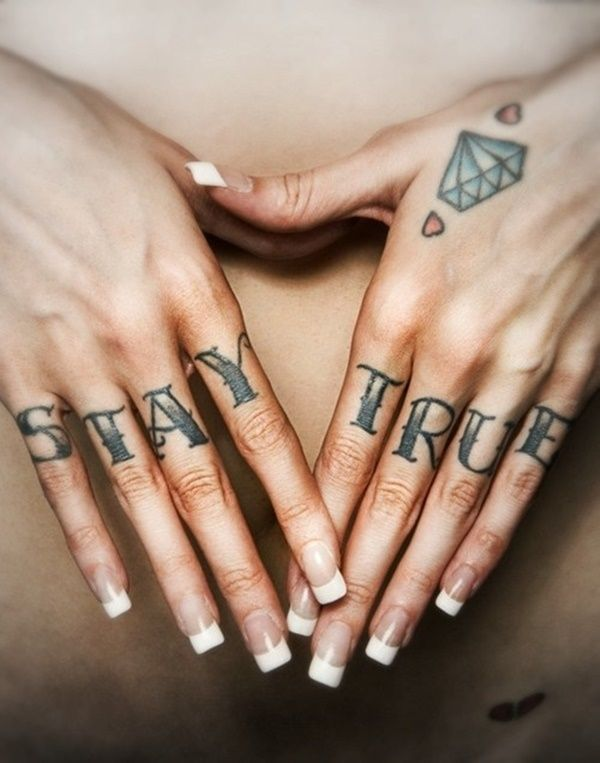 Cute And Simple Finger Tattoo Ideas You Can Try – Lifestyle
