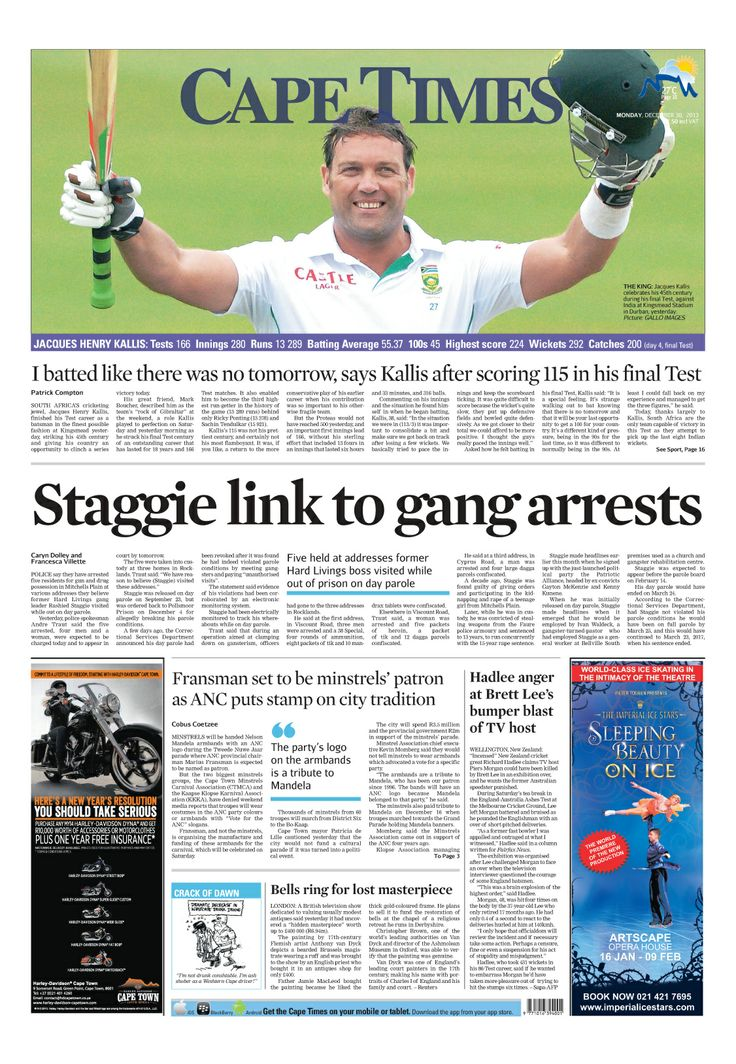 News making headlines: Staggie link to gang arrests