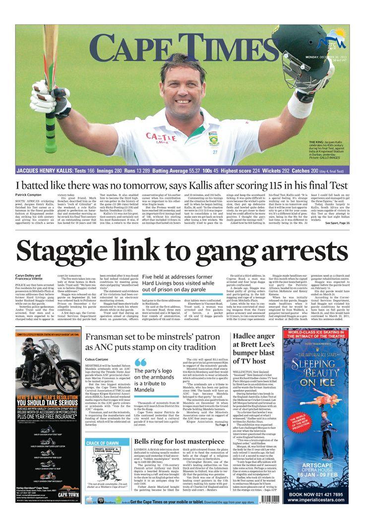 News making headlines: Staggie link to gang arrests