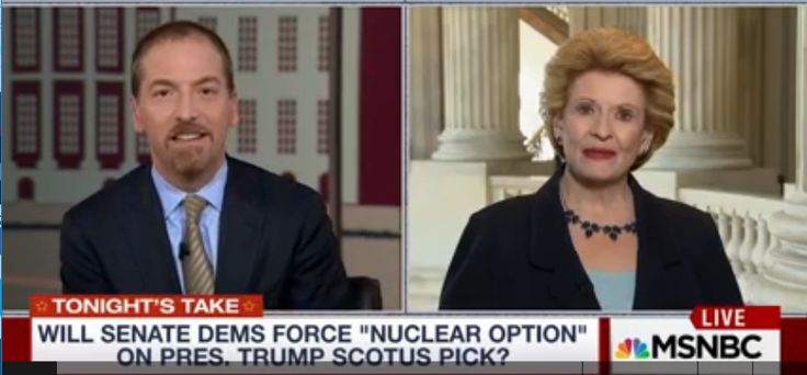 This is just a rant by me after listening to Chuck Todd attempting to corner Sen. Debbie Stabenow (D-Mich.) while pretending to be not only objective, by 'fair and balanced'.       What isn't available to post on-line is the segment directly...