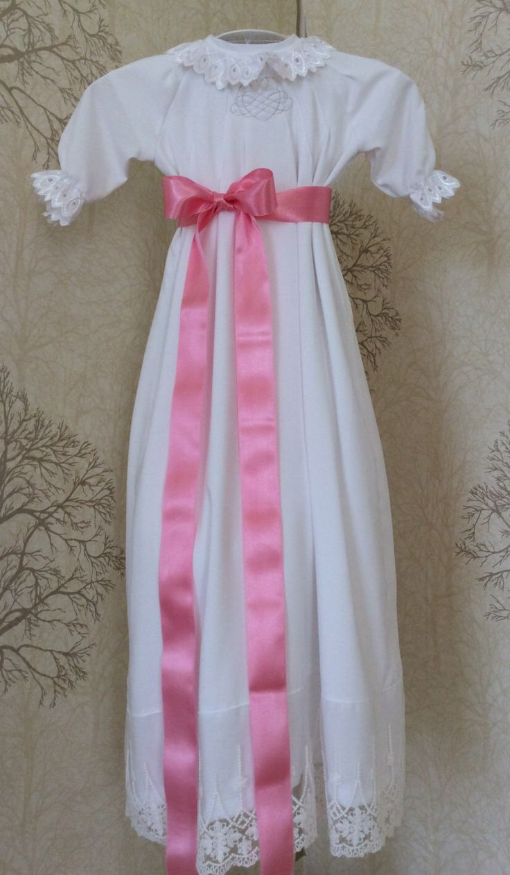 A personal favorite from my Etsy shop https://www.etsy.com/no-en/listing/249465038/christening-or-baptizing-baby-dress-fits