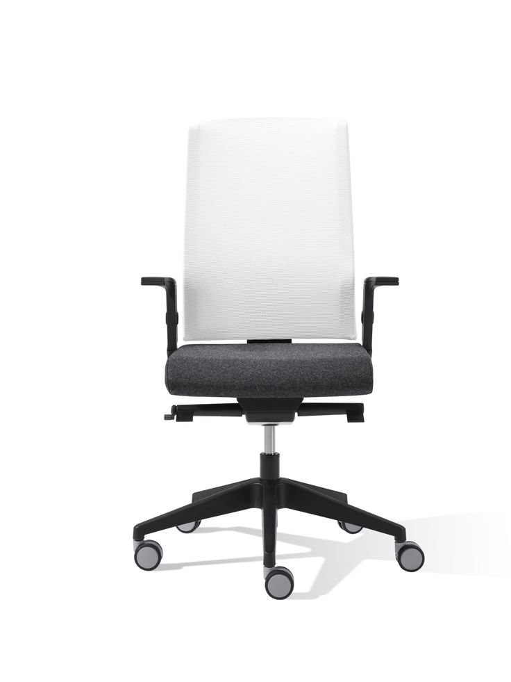 Air Swivel Chair With Mesh Backrest
