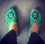 Granny Square Slippers Pattern Free - Bing Search