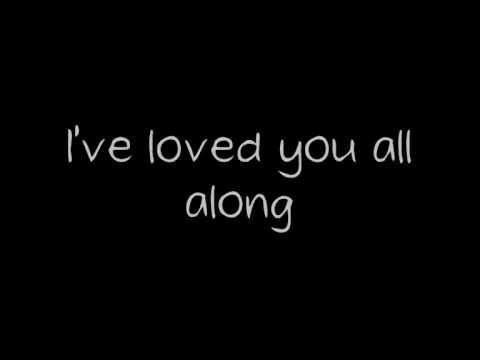 """Nickelback - """"Far Away"""" I wanted you to stay 'Cause I needed I need to hear you say That I love you I have loved you all along And I forgive you For being away for far too long So keep breathing 'Cause I'm not leaving you anymore Believe it Hold on to me and, never let me go"""