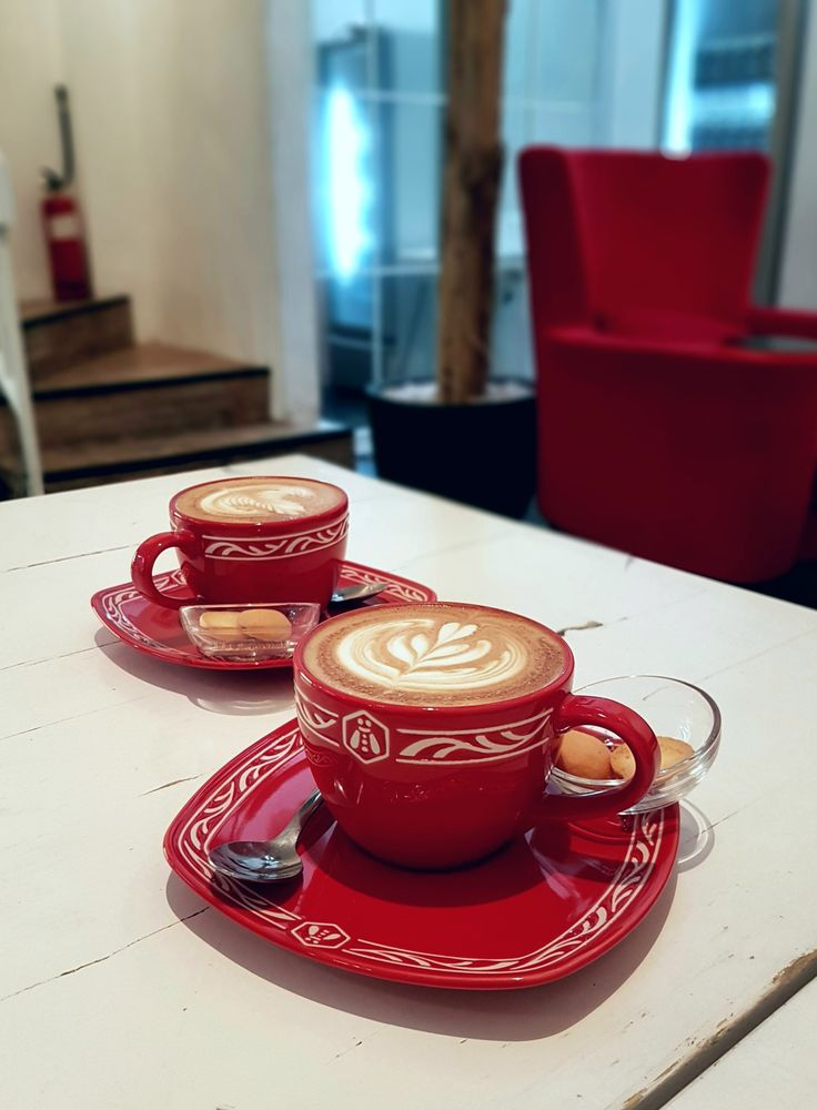 """""""Cappuccinos"""", Upo Coffee & Co., Jakarta"""
