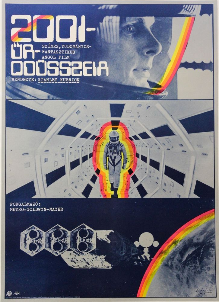 space odyssey movie posters