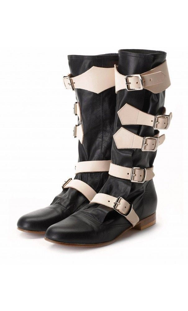 Vivienne Westwood Pirate Boot Black #SS16 #vogue
