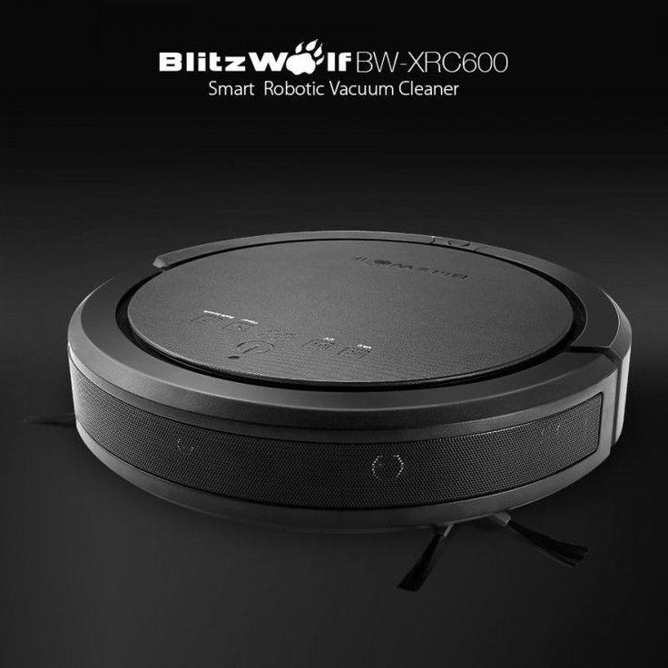 BlitzWolf BW-XRC600 Ultrasonic Smart Robot Vacuum Cleaner 1200pa 3350mAH UV APP  #BlitzWolf