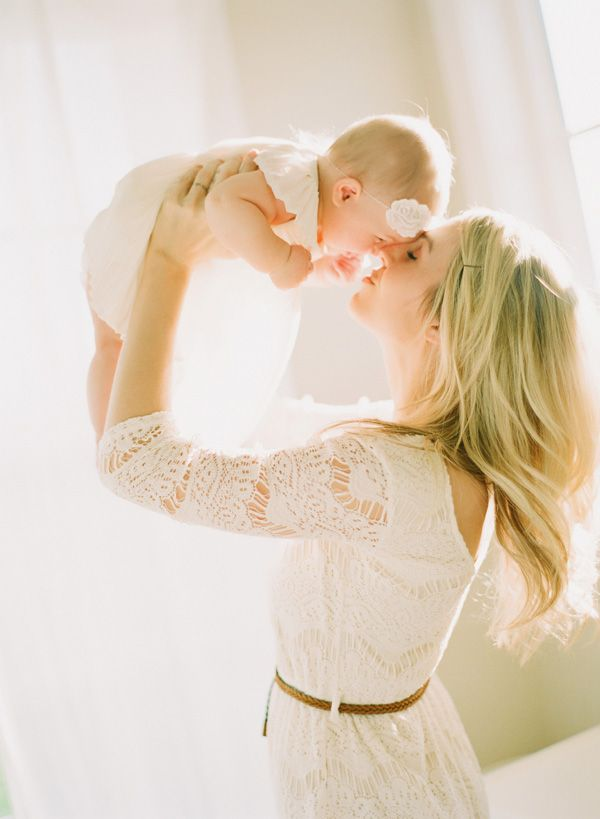 Soft, Light Family Photos - On to Baby