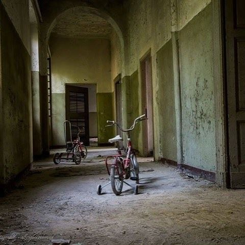 The children's department at abandoned hospital in Italy - like, follow or comment |
