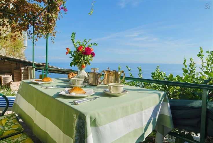 A Sea View Nest for Two just 3 km from the center of Amalfi, book it now! www.divineamalfi.it