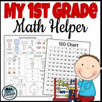 Looking for a practical math helper for ALL of your second grade students? This math helper was designed with Common Core State Standards in mind, and has the big ideas that students will need to know by the end of 2nd grade. My students always like a reference to go to for