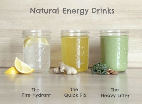 Homemade Natural Energy Drinks...http://improvedaging.com/homemade-natural-energy-drinks/