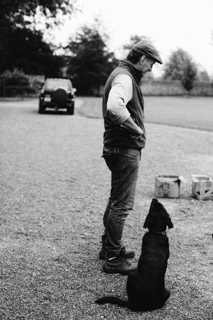 Man and his dog Ireland Toronto Travel Photographers - Suech and Beck