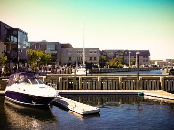 The Halifax Boardwalk.