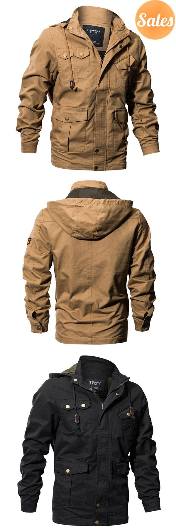 Casual Jackets for men. 3 Colors Optional.