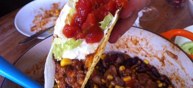 Glutenvrije taco's