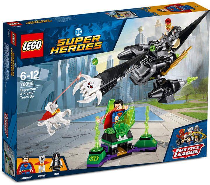 Lego DC Super Heroes Set 76096 Superman /& Krypto Team-up Brand New In Box