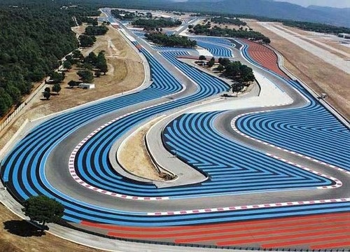 The Paul Ricard Circuit is a motorsport race track built