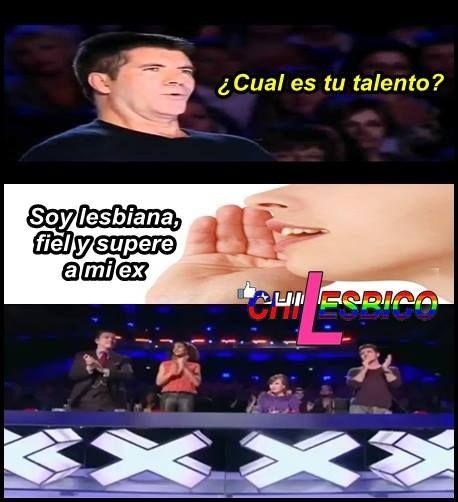 Talento de una Lesbiana #lesbianas #humor #lesbianashumor #lesbianaschile #lesbianasamor #Chilesbico