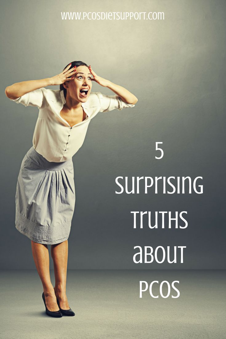 Here are 5 things that may surprise you about PCOS...  #pcos #pcosdietsupport