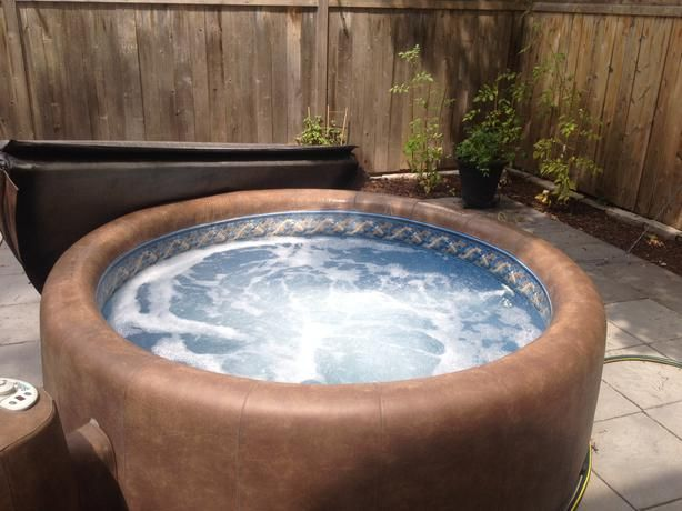 76 Best Images About Softub Decor On Pinterest Portable