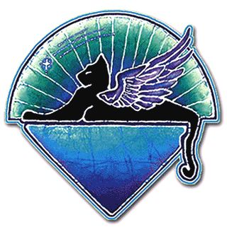 Grateful Dead - Winged Cats Under the Stars Sticker