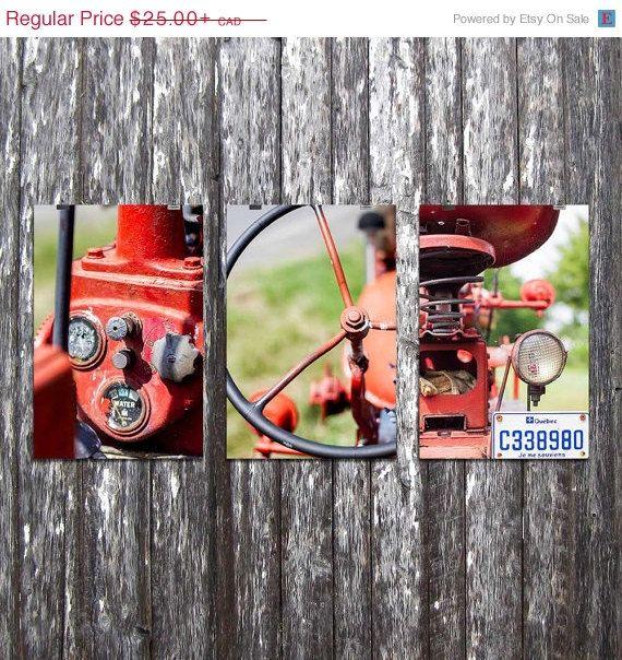 Trio de photographie  Comme dans le temps  par par Auboutdurang 25,00+$ CAD