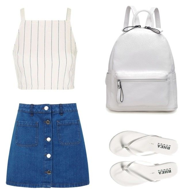 """Holiday look☀️"" by yasmin-bach-rasmussen on Polyvore featuring Topshop and Miss Selfridge"