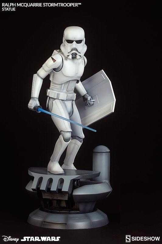 Pre-Order Sideshow Star Wars Ralph McQuarrie Stormtrooper Statue