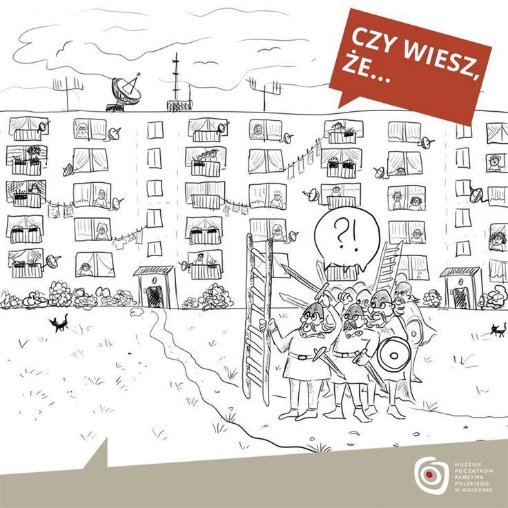… wysokość wałów największych grodów piastowskich wynosić mogła nawet do 10-12 metrów? To mniej więcej tyle, ile ma dziś 3-, 4-kondygnacyjny blok mieszkalny! Takie potężne umocnienia w dobie panowania Bolesława Chrobrego otaczały – wg badań archeologicznych – Gniezno i Poznań. Wówczas były to trudne do zdobycia fortece. O nie, w dużej mierze, Piastowie opierali obronę państwa.
