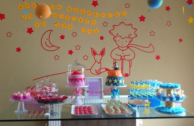 Gorgeous Little Prince dessert table