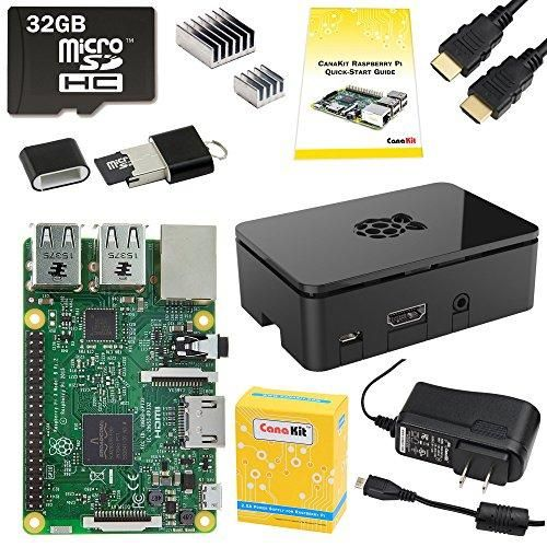 Raspberry Pi 3 Starter Kit - Join The Amazing World Of Raspberry Pi With Sample Project Ideas - Check Out My Included Project Ideas
