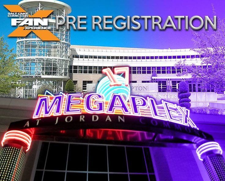 FanX 2015 Pre-registration is now open at 6 locations! Visit the Salt Palace Convention Center in Downtown SLC or a Megaplex Theatre in Ogden, Centerville, South Jordan, Sandy and Lehi. Open today 3pm to 9pm. If you have not received your wristband in the mail, attending Pre-Registration will allow you to bypass the Registration Line at the event and go directly into the Entry Line. Please bring your order confirmation/QR code. CLICK the photo for details.