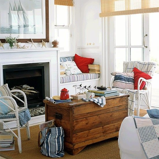 Coastal Cottage Style Living Rooms: 618 Best Images About Beach Cottage Decor On Pinterest