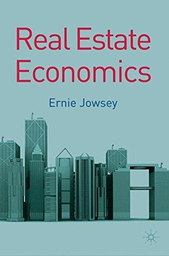 Real Estate Economics' explains the most important issues in UK and international real estate in terms of applied economics. It includes examples and data from property markets around the world, summaries of recent research in real estate issues, and up-to-date graphs and tables to explain... more details available at https://insurance-books.bestselleroutlets.com/property-insurance/product-review-for-real-estate-economics/