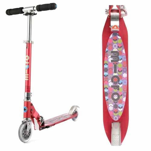 #EntropyWishList #PinToWin Microscooter Raspberry Floral Dot. Just for me (so I can keep up with my girls)