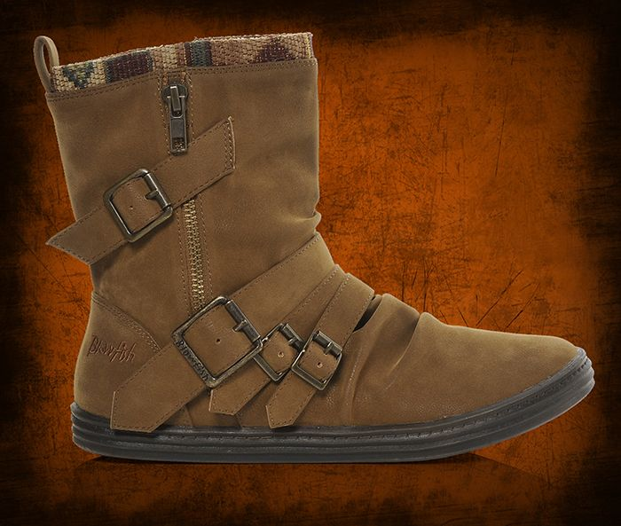 Women's Blowfish Casual Buckle Boots at Shoe Carnival.