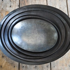 Metal Nesting Bowls ~ $132.00  For gathered collections from ~   shop.lovefeasttable.com #decor #home