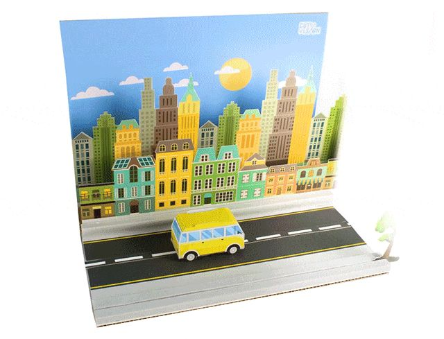 City Car Animation Kit.  CUT N' LEARN - Stop Motion Kits for Science Learning On KICKSTARTER (https://www.kickstarter.com/projects/346206518/cut-n-learn-stop-motion-kits-for-science-animation)