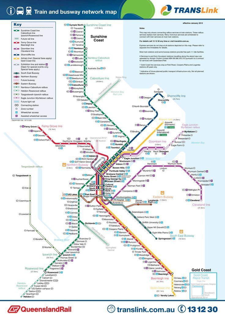 Die Besten Brisbane Map Ideen Auf Pinterest - Queensland australia map