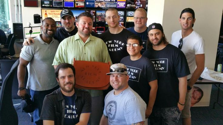 NYFA Student Veterans Attend Padres / Dodgers Rivalry Game