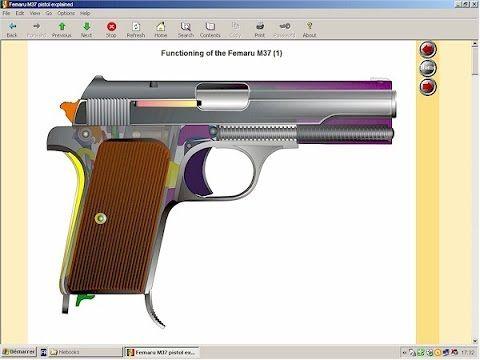 Hungarian Femaru model 37 pistol explained (HLebooks.com)
