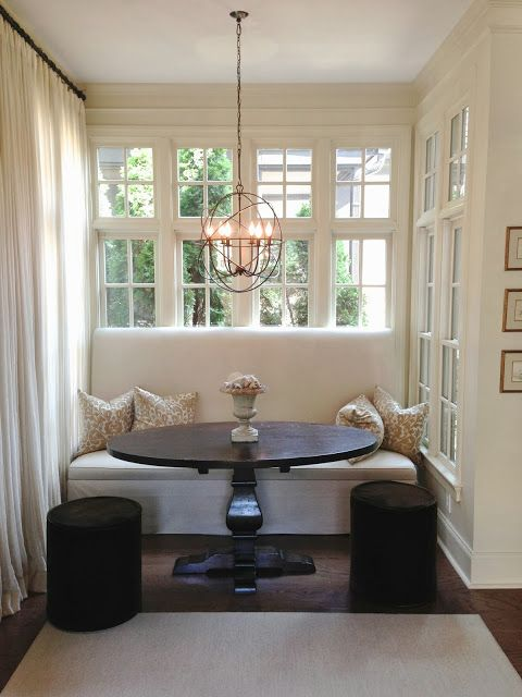 breakfast nook. See More. A DESIGNERS HOME