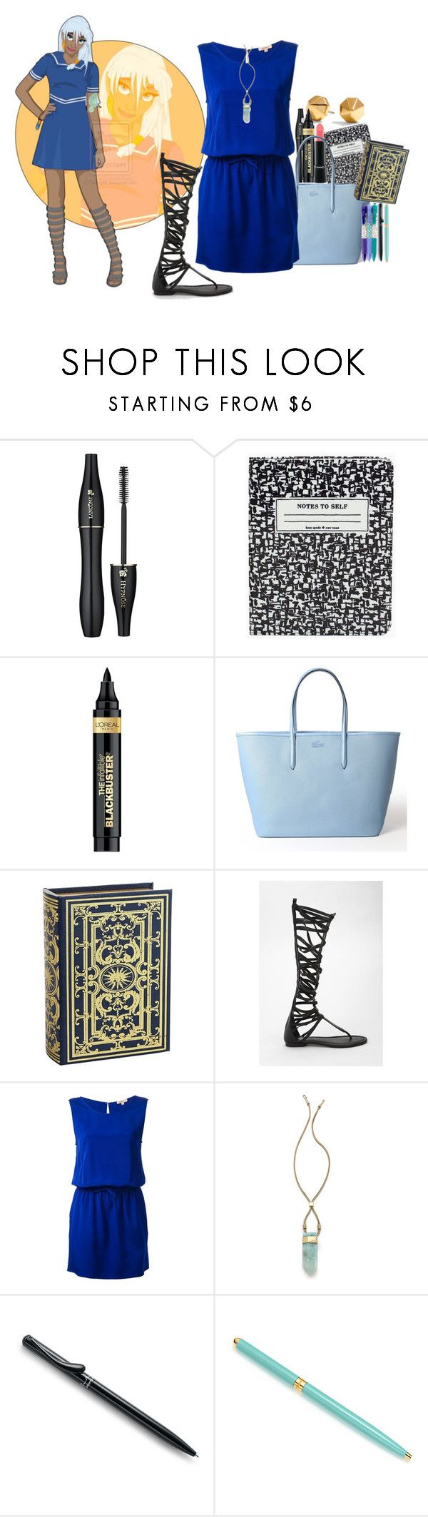 """As a modern day - Kida [Atlandide - The Lost Empire]"" by alexxhutcherson ❤ liked on Polyvore featuring Lancôme, Disney, Kate Spade, Rebecca Minkoff, L'Oréal Paris, Lacoste, Pier 1 Imports, All Black, P.A.R.O.S.H. and MANIAMANIA"