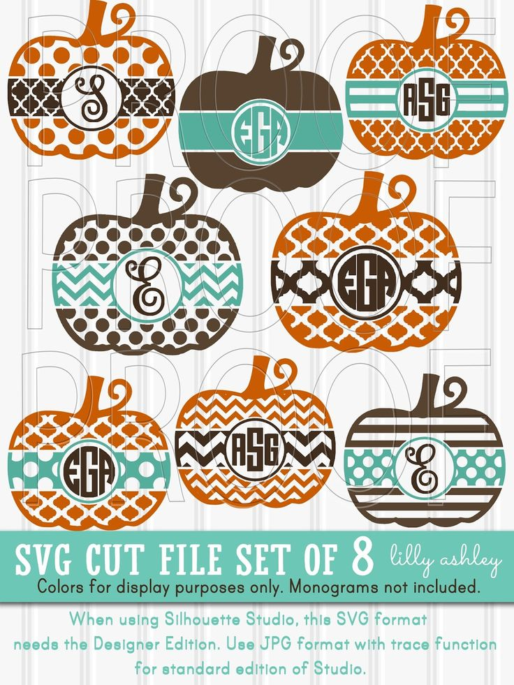 Free Thanksgiving SVG Set Monogram, Christmas svg, Free