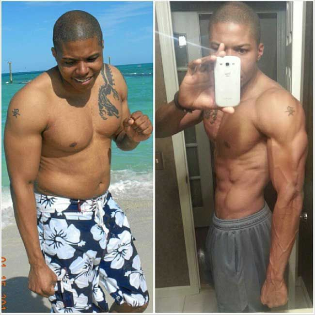 He Shed The Fat And Became Shredded Http://www
