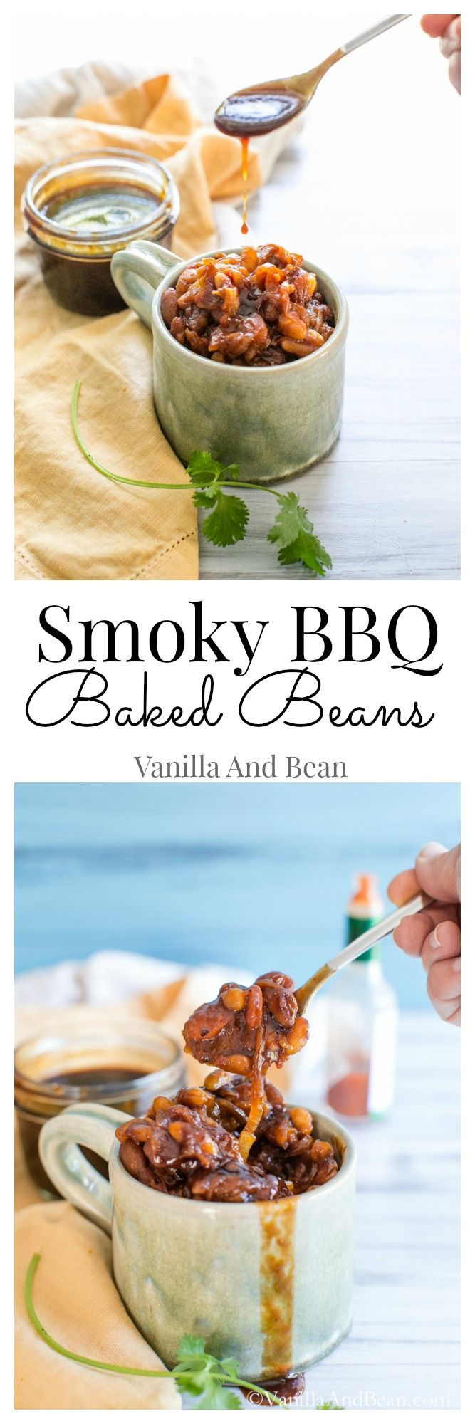 Smoky BBQ Baked Beans | Vanilla And Bean