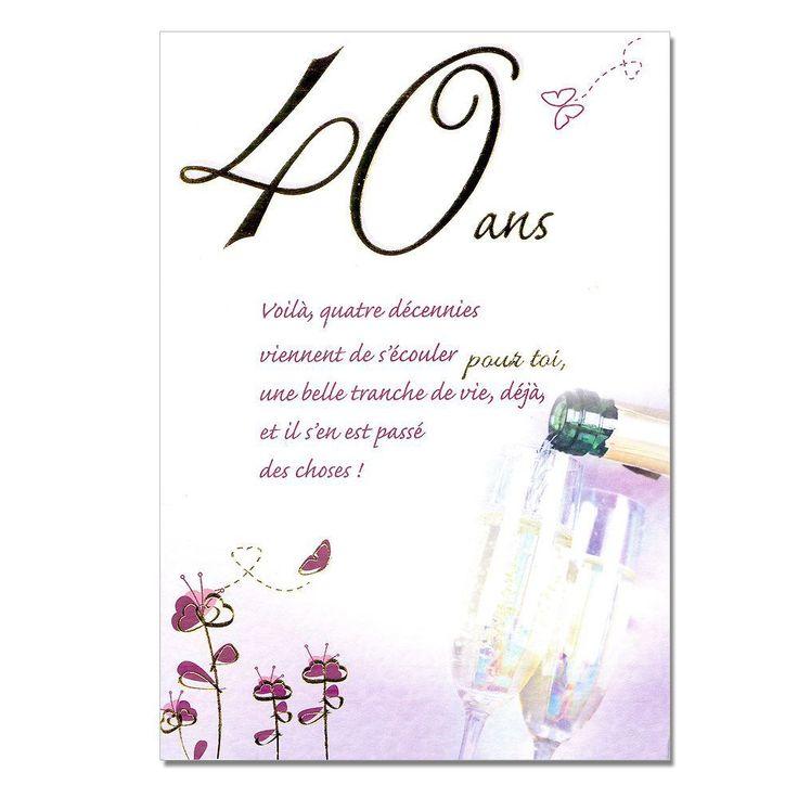 1000 ideas about invitation anniversaire 40 ans on pinterest soir e des 50 ans anniversaire. Black Bedroom Furniture Sets. Home Design Ideas