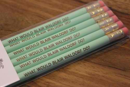 {what would blair waldorf do?}